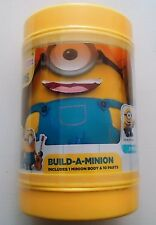 "Minions Build A Minion Plush 9 3/4"" 11 pieces Movie Exclusive New."
