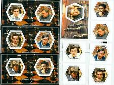 CHESS Fischer Anand Carlson SET 6 hexagon stamps+4 s/s Tchad 2014 tchad2014-131s