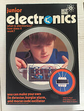 JUNIOR ELECTRONICS SALTER SCIENCE GIOCO DELL'ELETTRONICA VINTAGE!!!NEW!!!