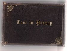 William Dobson Valentine photograph album Tour in Norway 1888 20  albumen prints