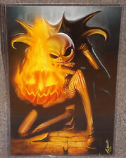 A Nightmare Before Christmas Glossy Print 11 x 17 In Hard Plastic Sleeve