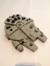 Edible In The Style Of Millennium Falcon Star Wars Cake Topper Icing Decoration