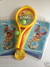 2 x Designer Swim Ring & Boom Bat & Ball Set 2 Bats - 2 player  - Summer Fun
