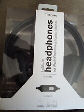 TARGUS FOLDABLE HEADPHONES FOR IPOD/IPHONE/IPAD/SMARTPHONES