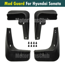 Mud Splash Flap Guard Fender For Hyundai Sonata YF 4Dr Mudguards 2011 12  2013