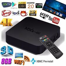 TVBOX MXQ 4K Android TV LED LCD Box INTERNET,DECODER SKY,NETFLIX,KODI,FILM,1GB