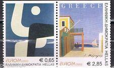 Griekenland 2003 2150c-2151c  Europa CEPT