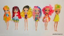 La Dee Da Doll Lot Set of 6 Dolls with Clothes Spin Master