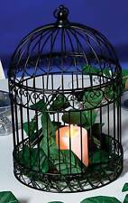 Decorative Black Bird Cage Centerpiece-Dress up your tables!