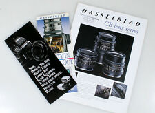 HASSELBLAD LITERATURE SET OF 3