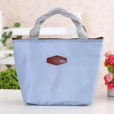 Waterproof Portable Picnic Insulated Food Storage Box Tote Lunch Bag 5 Color N