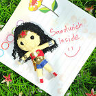 Fridge Refrigerator Magnet Cute WONDER WOMAN Voodoo Souvenir Gift Collectibles