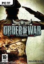 Order of War PC Brand New Sealed Fast Shipping WWII warfare battlefield game