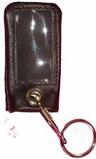 Supple Leather Remote Cover For Many Infinity Toyota Chrysler Nissan Jeep BLK/LG
