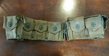 Vintage USMC Ammo Storage Belt Made by United-Charr