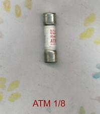 SHAWMUT ATM 1/8  FUSE 1/8  AMP 600 VOLT  ATM 1/8