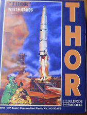 GLENCOE 1/87TH SCALE THOR MISSILE (NEW IN BOX) (RE-RELEASE OF ADAMS KIT, 1960'S)
