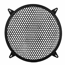"CAR 8.25"" DIA PLASTIC MESH DESIGN WOOFER/SPEAKER COVER GRILLs BLACK BEST PRICE!!"