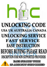 HTC NETWORK UNLOCK CODE/PIN FOR HTC MTS CANADA  Incredible S
