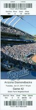 2011 Royals vs Diamondbacks Ticket: Wily Mo Pena, Chris Young & Alex Gordon HRs
