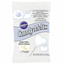 Bright White Wilton Candy melts 12 oz Molds Holiday Christmas Vanilla Flavor