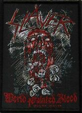 Slayer World painted Blood   Patch/Aufnäher 601783 #