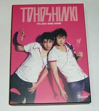 TVXQ Tohoshinki TONE Bigeast Limited Edition Japan CD+DVD+Jacket Card+Earphone