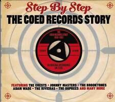 STEP BY STEP - THE COED RECORDS STORY 19585-1962 - 40 ORIGINALS (NEW SEALED 2CD)