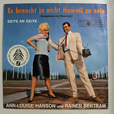 "COVER ONLY - ANN-LOUISE HANSON & RAINER BERTRAM ""Es braucht ja nicht Hawaii .."""