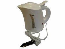 White, 1 litre, 12V Kettle for Car / Boat / Van
