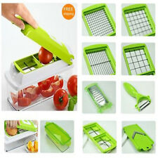 Super Slicer Plus Vegetable Fruit Peeler Dicer Cutter Chopper Nicer Grater Set