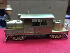 NAKAMURA HON3 CLASS 'A' CLIMAX Brass Double Truck Loco With Box