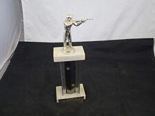 """Vintage Shotgun Sheet Trap Shooting Trophy 12"""" #2"""