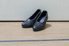 Beautiful Lady Shoes for Minifee In Active Line (Black Color)