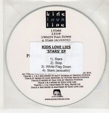 (GU166) Kids Love Lies, Stars EP - 2010 DJ CD