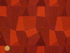 Woven Retro Network Poppy Contemporary Abstract Modern Upholstery Fabric