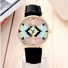 HORSE & WESTERN JEWELLERY JEWELRY LADIES AZTEC DESIGN WRIST WATCH BLACK