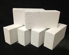 "K-26 Insulating Firebrick BOX OF 25 Fire Brick 9x 4.5x 2.5"" IFB Thermal Ceramics"