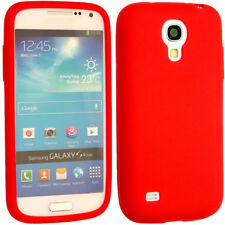 Plain Soft Silicone Rubber Gel Skin Case Cover for Samsung Galaxy S4 Mini i9190