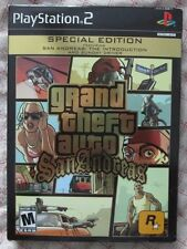 PS2 Grand Theft Auto San Andreas Special Edition (Manual, box and game)