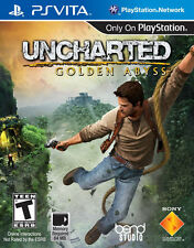 Uncharted Golden Abyss PS Vita Game BRAND NEW SEALED