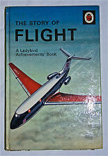 The Story of Flight Series 601 Rare Matt Vintage Ladybird Book.