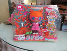 LALALOOPSY LITTLES SILLY HAIR SPECS READS-A-LOT DOLL NIP