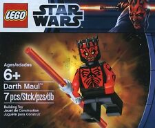 New Lego Star Wars Darth Maul Minifig Polybag Promo -- Brand New