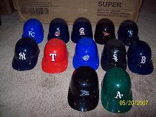 Pick Your Teams MLB Mini Baseball Helmet Ice Cream Sundae Bowl AL LOT