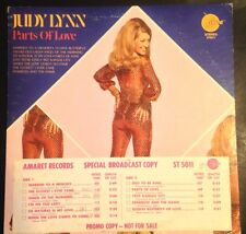 Judy Lynn - Parts Of Love White Label Promo Broadcast Copy LP