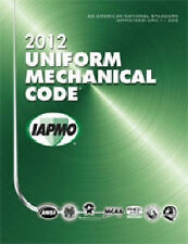 2012 Uniform Mechanical Code Book in Soft Cover