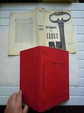 DICTIONNAIRE DES TRUCS DE JL CHARDANS CHEZ JJ PAUVERT LES FAUX LES FRAUDES 1960