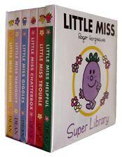 NEW BOX SET of 6 LITTLE MISS board books SUNSHINE GIGGLES CHATTERBOX HELPFUL Mr
