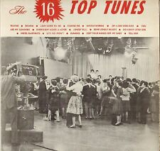 "RARE ""THE 16 TOP TUNES"" POP ROCK & ROLL 60'S LP TT 650"